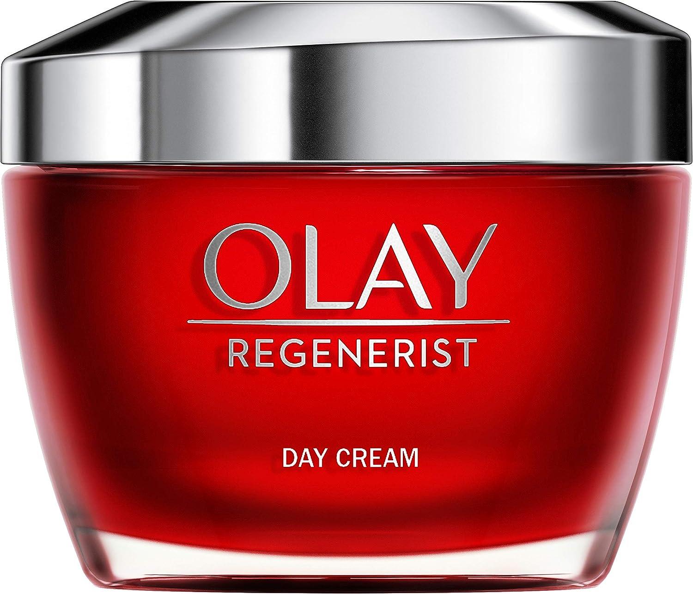 Olay Regenerist Crema hidratante de día, Crema facial con niacinamida y péptidos, 50 ml