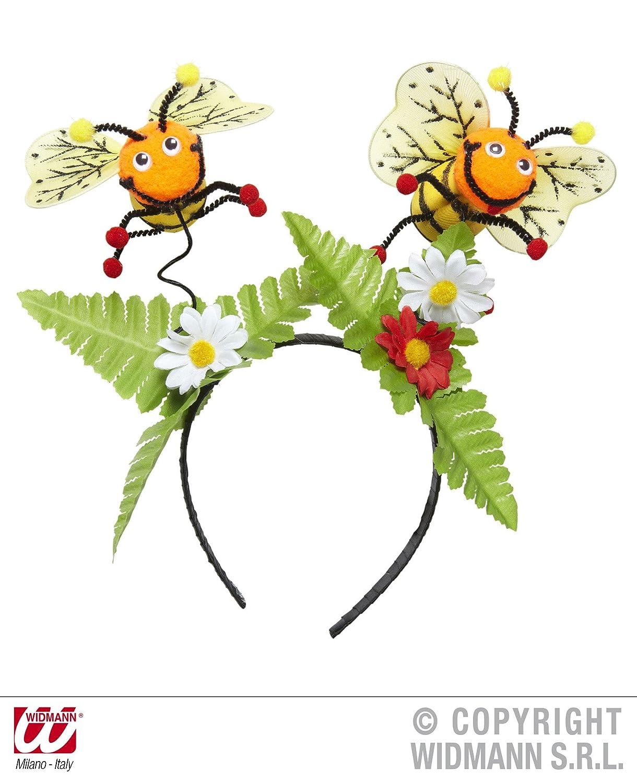 Bienenfühler Biene Kostüm Zubehör Haarreif Kopfschmuck Bienchen Verkleidung