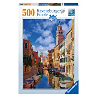 Ravensburger Canals of Venice Puzzle 500pc,Adult Puzzles