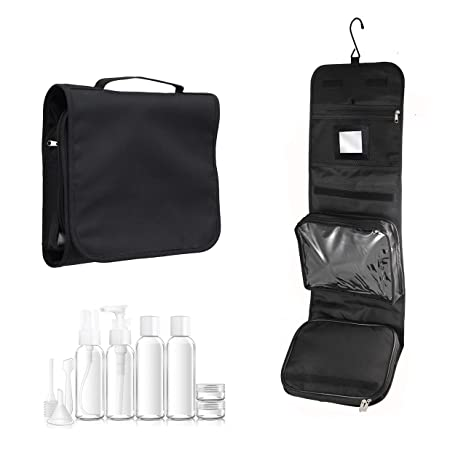 4518d884f2 Hanging wash Bag with 100mL Travel Set and Mirror by Nomalite ...