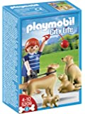 Playmobil - 5209 - Jeu de Construction - Famille de Golden Retrievers