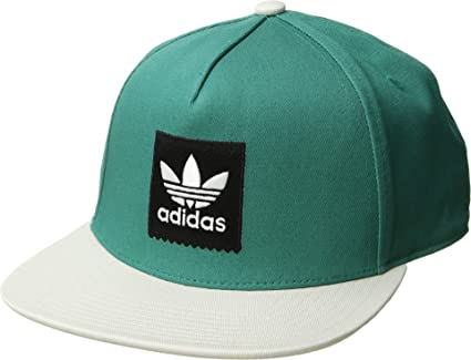 535c6f4d617 adidas Skateboarding Men s Two-Tone Blackbird Snapback Hat Active Green Raw  White One Size at Amazon Men s Clothing store