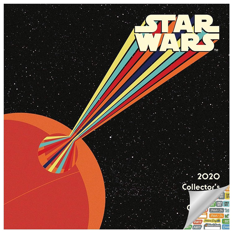 Calendario 2020 de Star Wars, calendario de edición de ...
