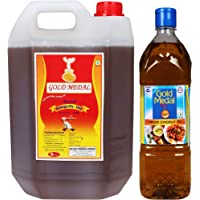 Gold Medal Virgin Gingelly Oil, 6 Litre (Pack of 2)