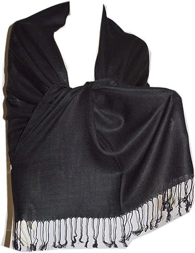 100/% Cashmere Scarf Shawl Warp Stole Handmade Pashminas