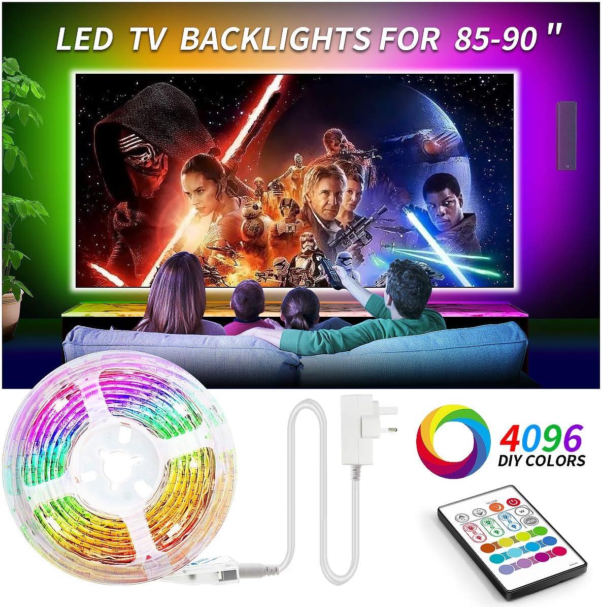 USB LED TV Bias iluminación luz de fondo para 32 a 47 pulgadas ...