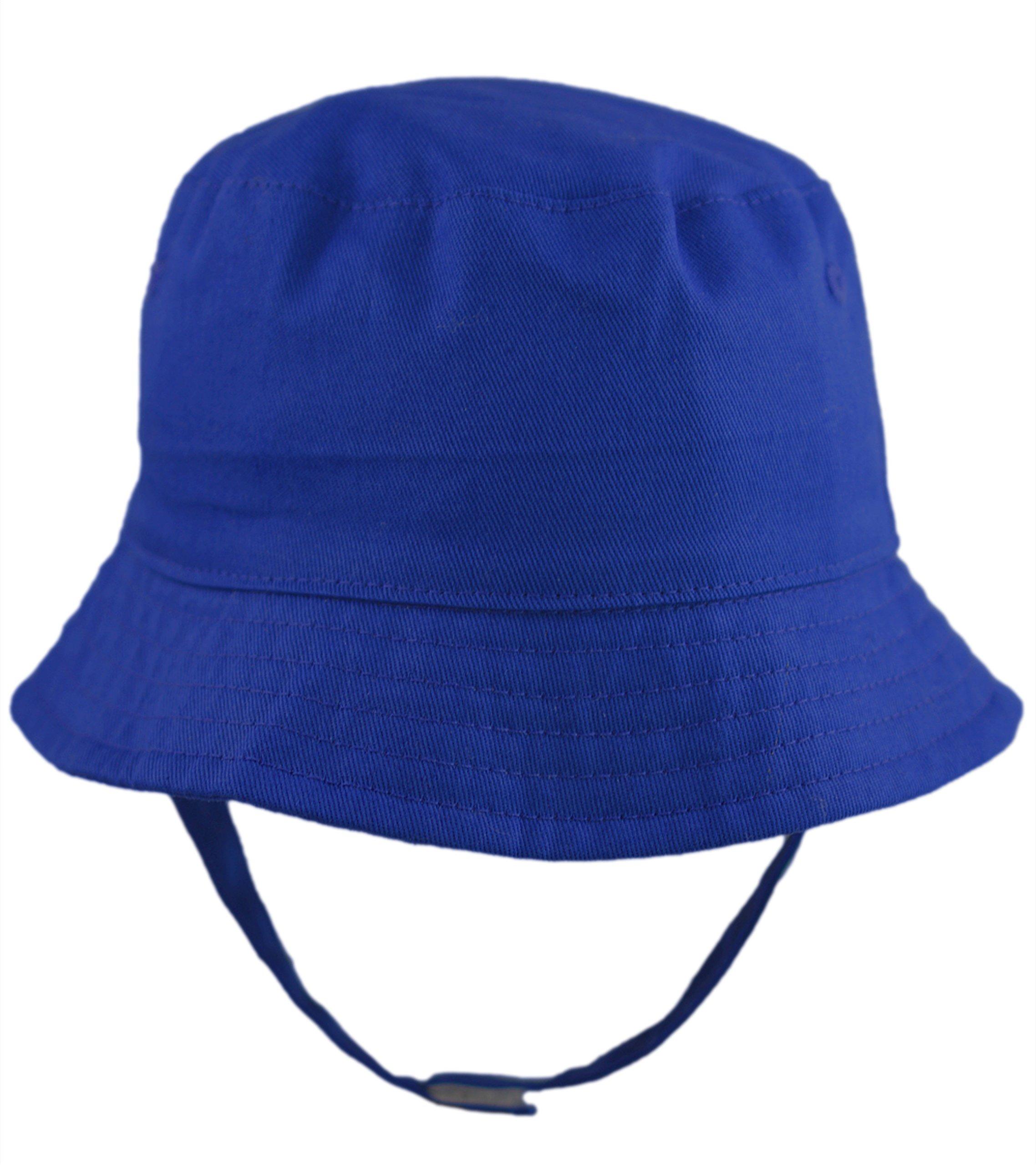 Pesci Baby Boys Girls Sun Hat Summer Bucket Hats with Chin Strap