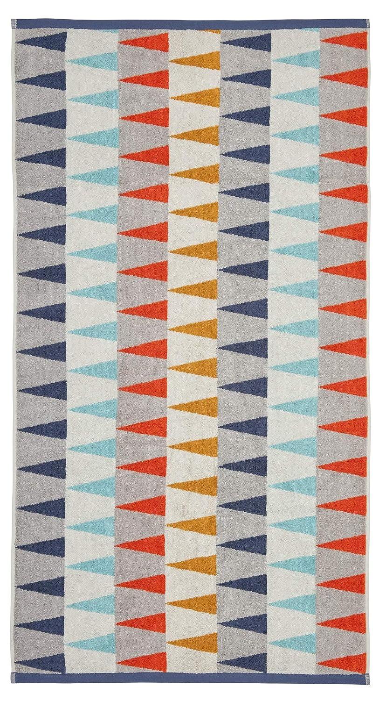 Harlequin algod/ón Rizado Tinta y Pizarra 40 x 60 cm Toalla para Invitados