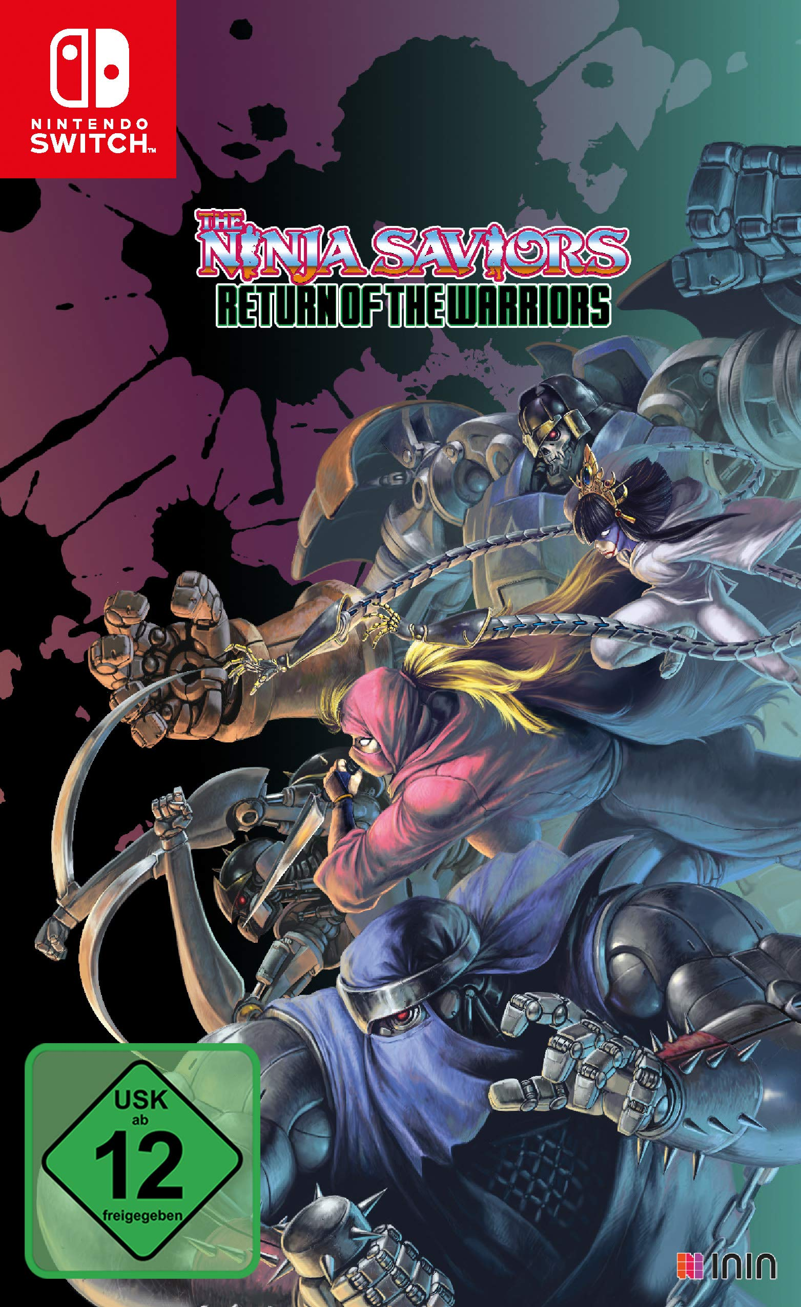 The Ninja Saviors Return of the Warriors - Ninja Art Edition ...