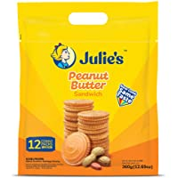 Julie's Peanut Butter Sandwich Biscuits, 360g