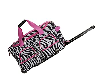 b7441888f796 Image Unavailable. Image not available for. Color  Rockland Luggage 22 Inch Rolling  Duffle Bag ...