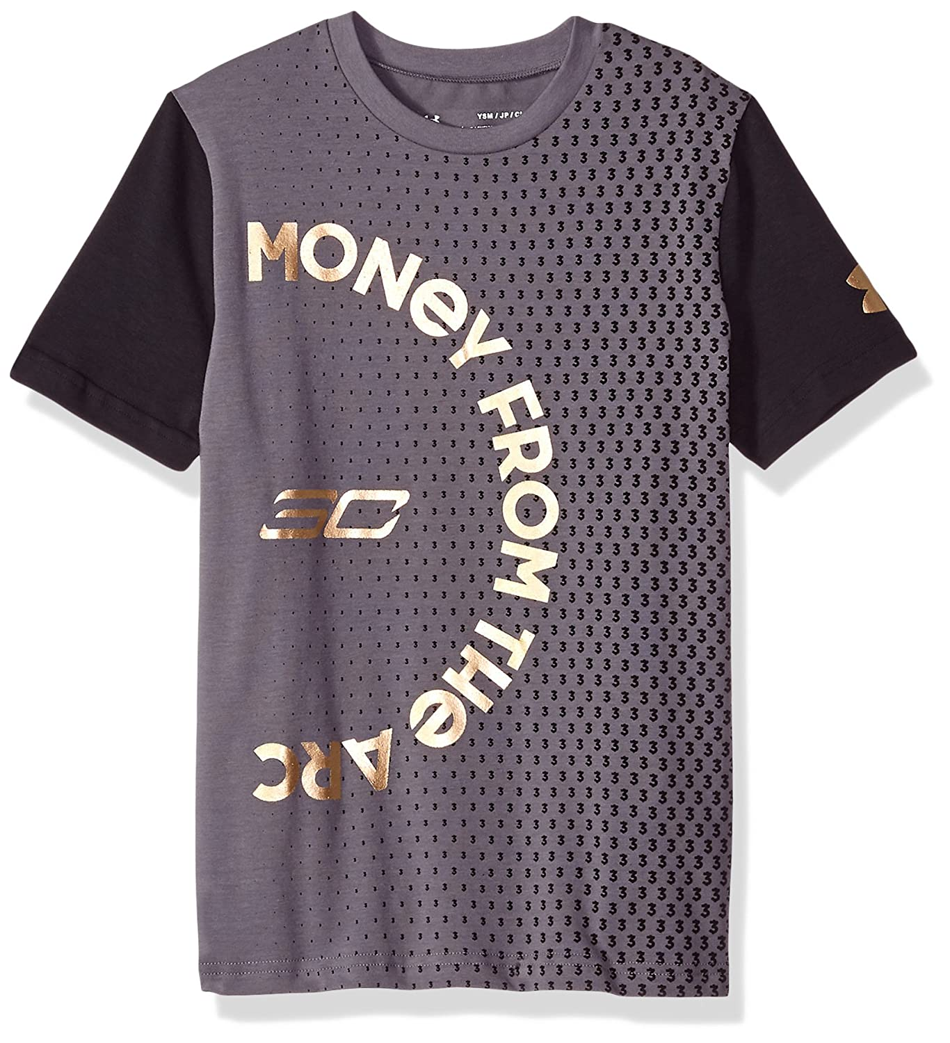 b8bd66dff9b Amazon.com  Under Armour Boys SC30 Money From The Arc ss Tee  Sports    Outdoors