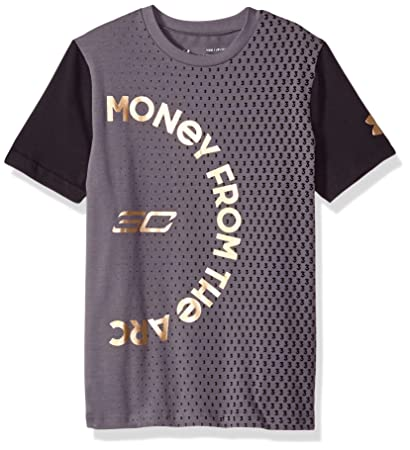 9bcf7a346d34 Image not available for. Color  Under Armour Boys SC30 Money From The Arc  ss Tee