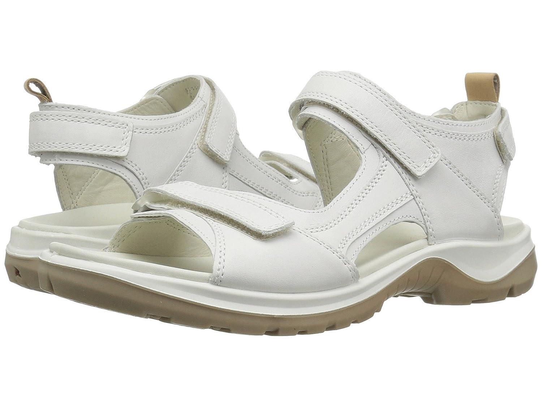 [ecco(エコー)] レディースゴルフシューズ靴 Premium Offroad White/Powder EU37 (US Women's 6-6.5) (23-23.5cm) B - Medium B07FVH9ZZL