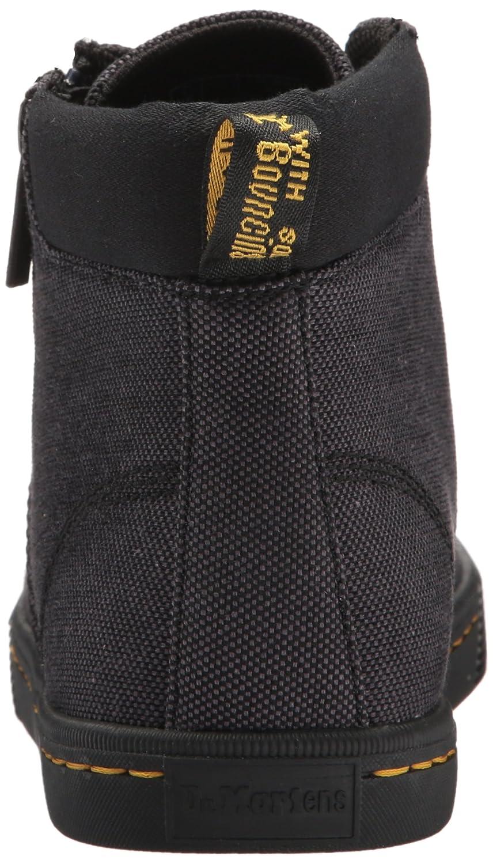 Dr. Martens Women's Maegley Fashion Boot B071K8C6JR 9 Medium UK (11 US)|Black Woven Textile+fine Canvas