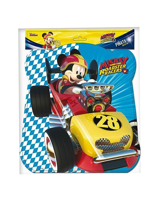 Verbetena, 014001348, piñata basic Disney mickey mouse y los super pilotos. dimensiones 28x33 cms: Amazon.es: Juguetes y juegos