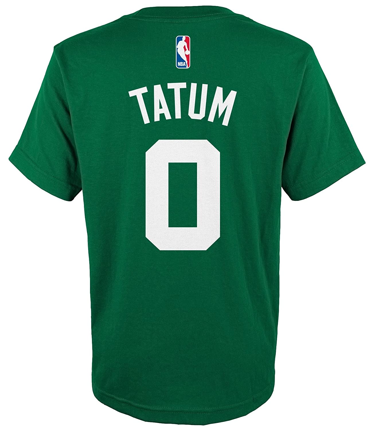 cheap for discount daf25 65cb0 Outerstuff Jayson Tatum Boston Celtics Youth Green Name and Number Player  T-Shirt