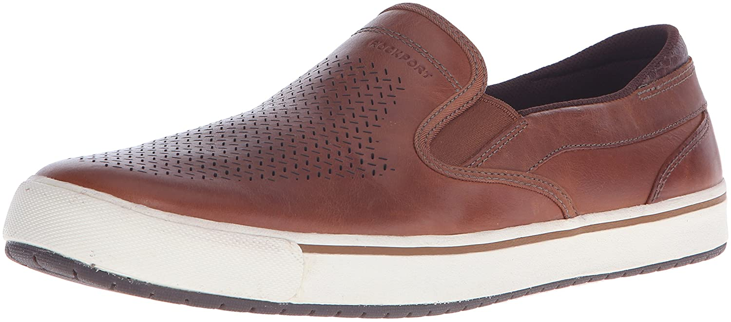 Amazon.com | Rockport Men's Path To Greatness Slip On Fashion Sneaker |  Fashion Sneakers