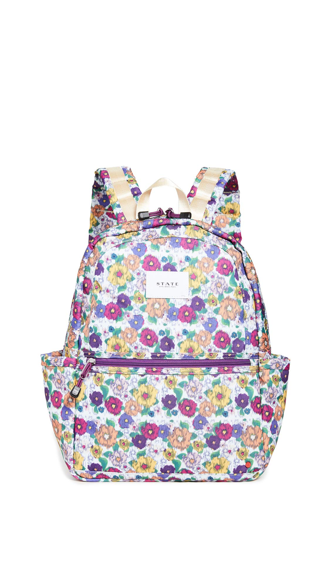 STATE Women's Kane Backpack, White Multi, One Size by STATE Bags
