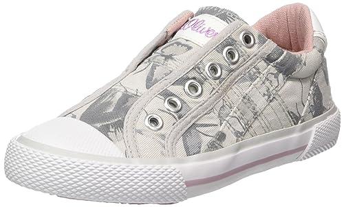 s.Oliver 54107, Zapatillas sin Cordones para Niñas, Rosa (Dusty Pink), 39 EU
