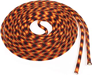 product image for Atwood Rope MFG Double Dutch Jump Rope - 3/8 Inch - 18 Feet - Kids Adults (Lava Flow, Two Pieces by 18ft)