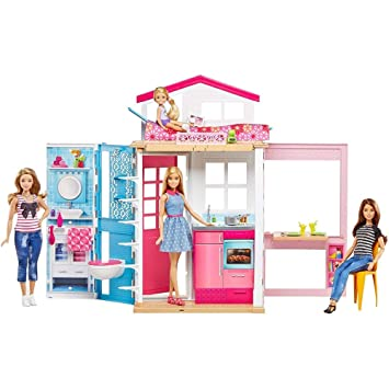Barbie 2 Historia House & Muñeca