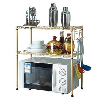 Edge to Regal Schicht-Regal Mikrowelle Regale Küche ...