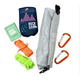Selkirk Design Ultralight Food Bag Hanging System - Includes a Waterproof Bear Bag, Pulley System with Paracord Nylon Ropes &