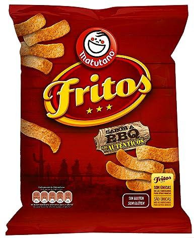 Fritos - Producto de aperitivo de maiz frito con sabor a carne ahumada - 156 g - , Pack de 6: Amazon.es: Alimentación y bebidas