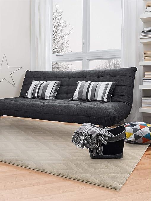 Benuta Alfombra Jardin Beige 120 X 170 cm | Moderna Alfombra para salón y Dormitorio: Amazon.es: Hogar