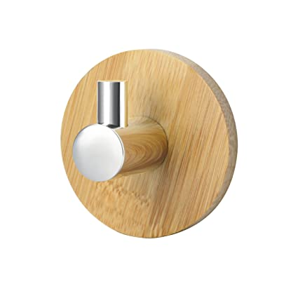 Madera hook-2 Pack, VdS - Adhesivo para pared gancho ...