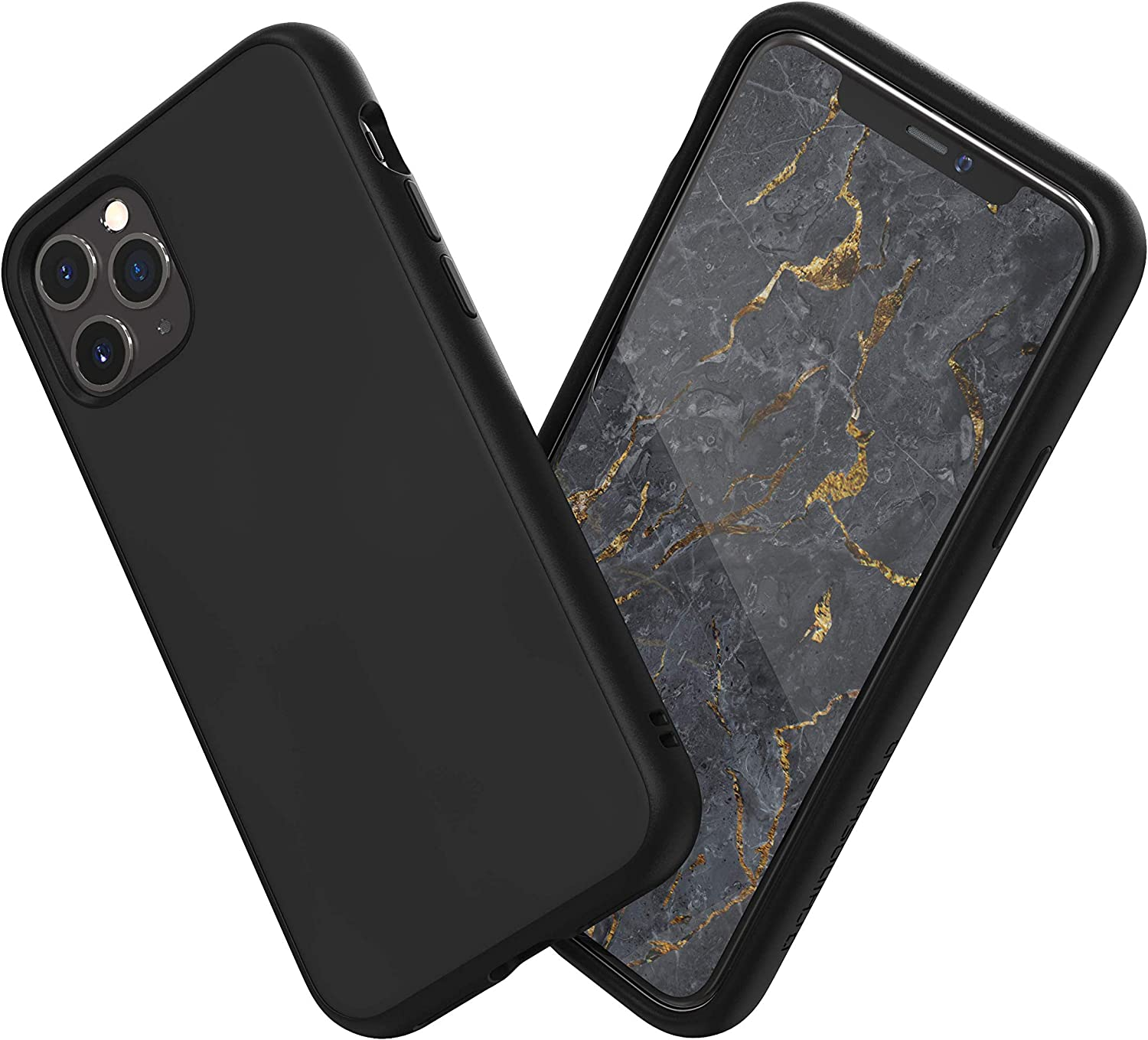 Amazon Com Rhinoshield Case Compatible With Iphone 11 Pro Max Solidsuit Shock Absorbent Slim Design Protective Cover With Premium Matte Finish 3 5m 11ft Drop Protection Classic Black