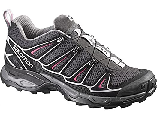 Salomon Women's X Ultra 2 Hiking Shoes Asphalt / Black / Hot Pink 5.5 and  Spare