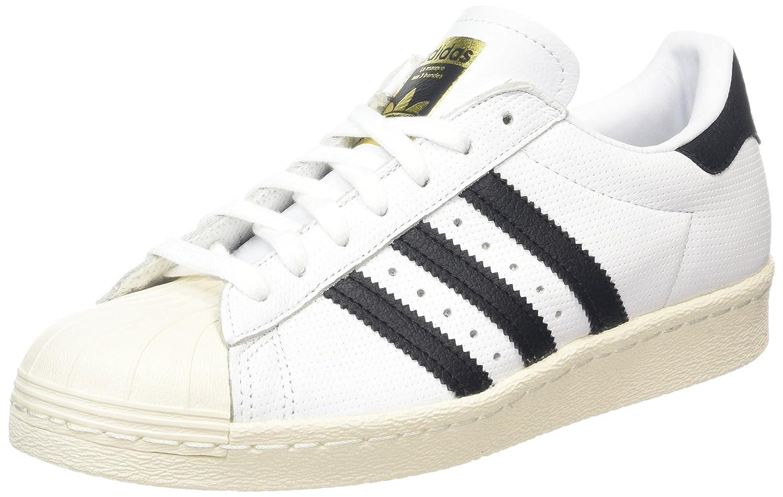 Blanc(running ) Bleu(trace) gris Adidas Superstar 80s, Baskets Homme 44 2 3 EU
