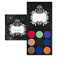 TZ COSMETIX - Twilight 9 Shades Eyeshadow Palette - include Matte, Shimmer & Foiled Eye Shadow Palette - High Pigmented Cruelty free Makeup Palette Especially Suitable for all Parties tz9e
