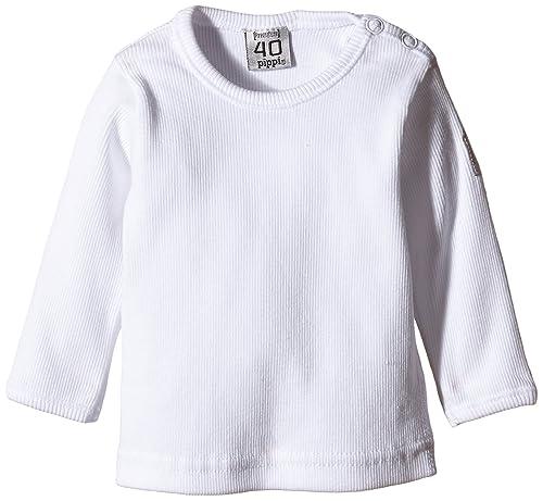 Pippi T-Shirt LS W.Buttons O.Shoulder – Blusa Bebé-Niños