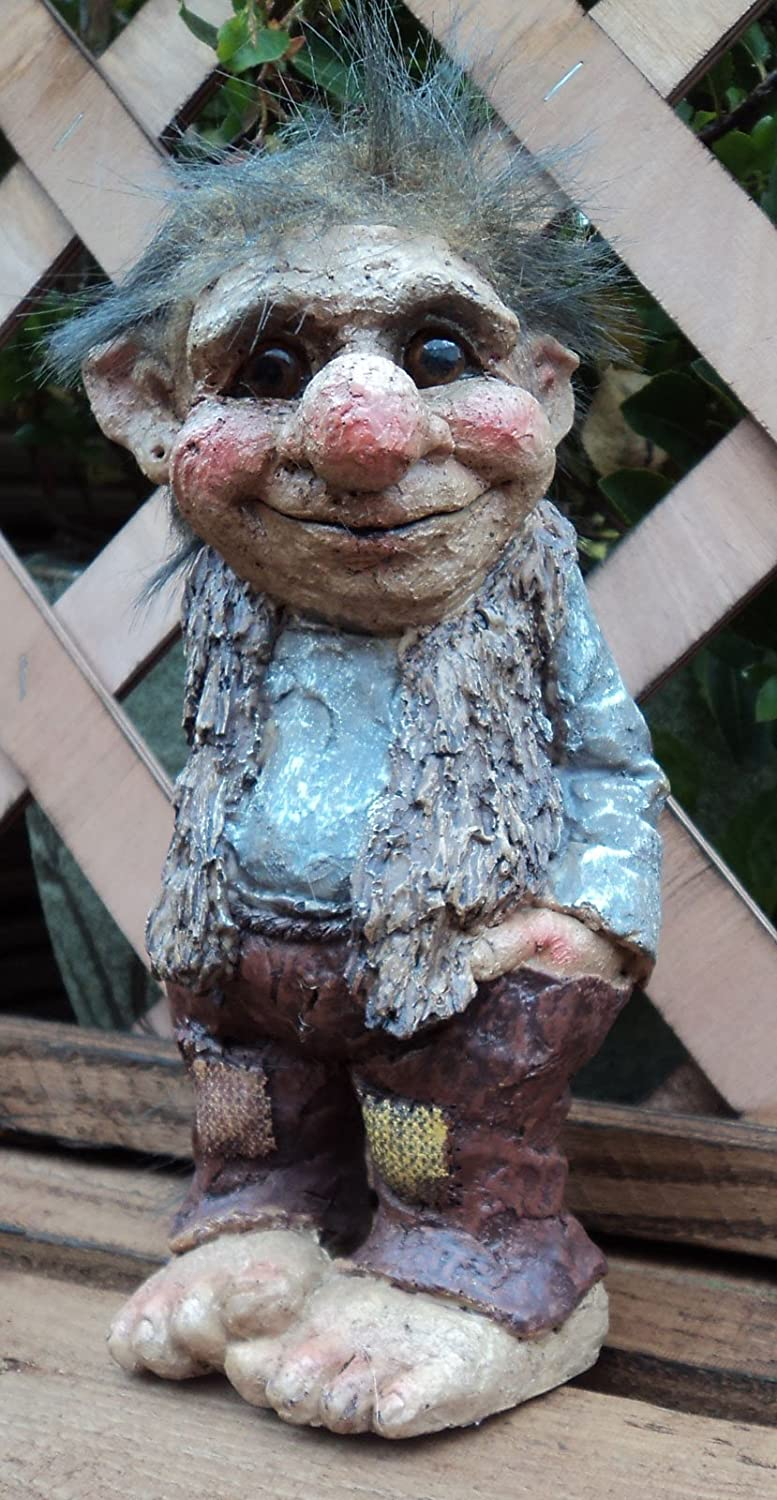 Superior Trevor The Troll Gnome Garden Gift Ornament: Amazon.co.uk: Garden U0026 Outdoors