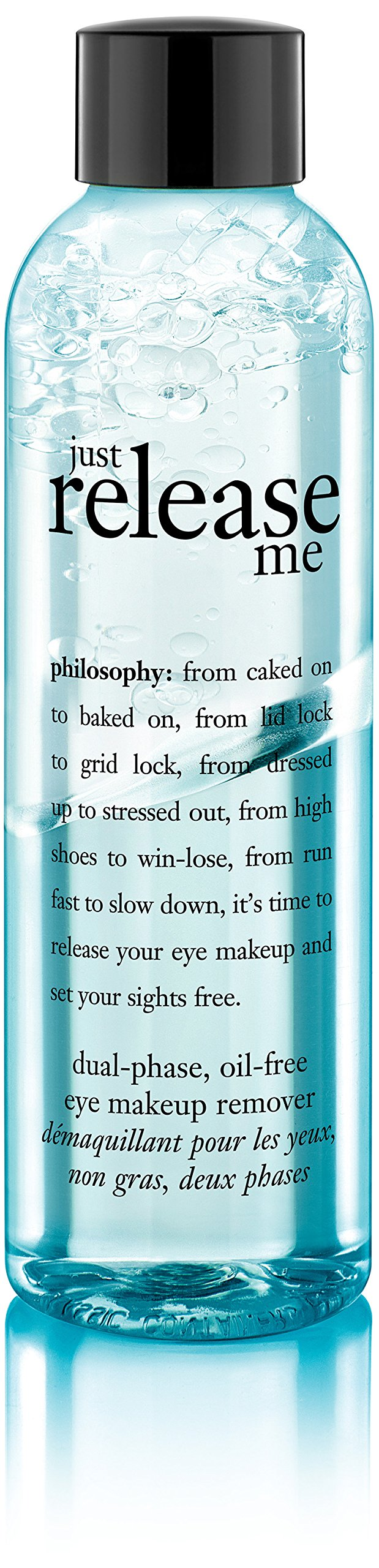 Philosophy Just Release Me Eye Makeup Remover, 6 Ounce