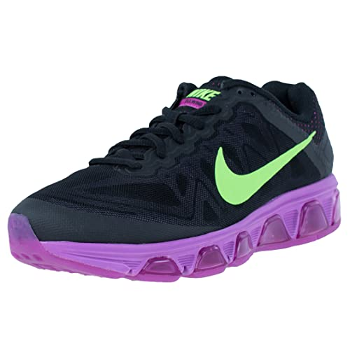 pretty nice 76005 9de77 Nike Women s WMNS Air Max Tailwind 7, Black Flash Lime-Fuchsia Flsh-