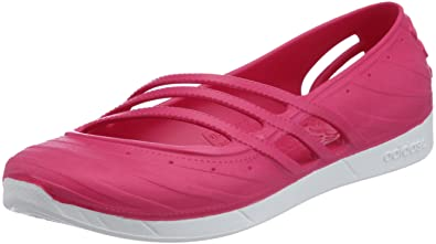 adidas qt. womens adidas qt comfort jelly shoe in pink - uk 4 qt