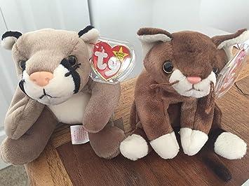Amazon com: Beanie Baby Cats: Toys & Games