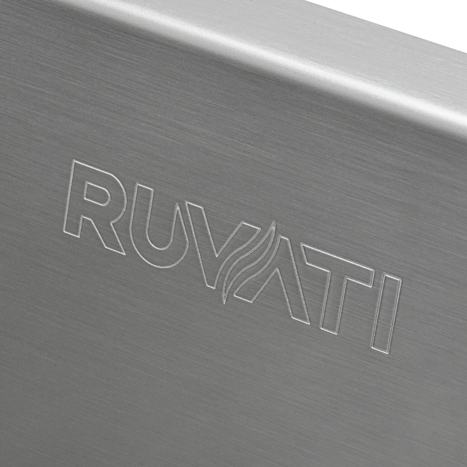 Ruvati 15 x 20 inch Drop-in Topmount Bar Prep Sink 16 Gauge Stainless Steel Single Bowl - RVH8110 by Ruvati (Image #9)