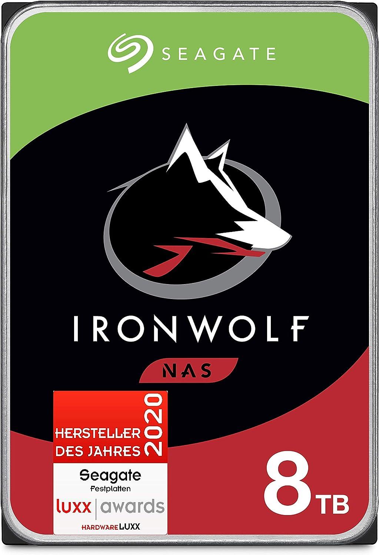 Seagate Ironwolf Nas Interne Festplatte 8 Tb Hdd 3 5 Computer Zubehör