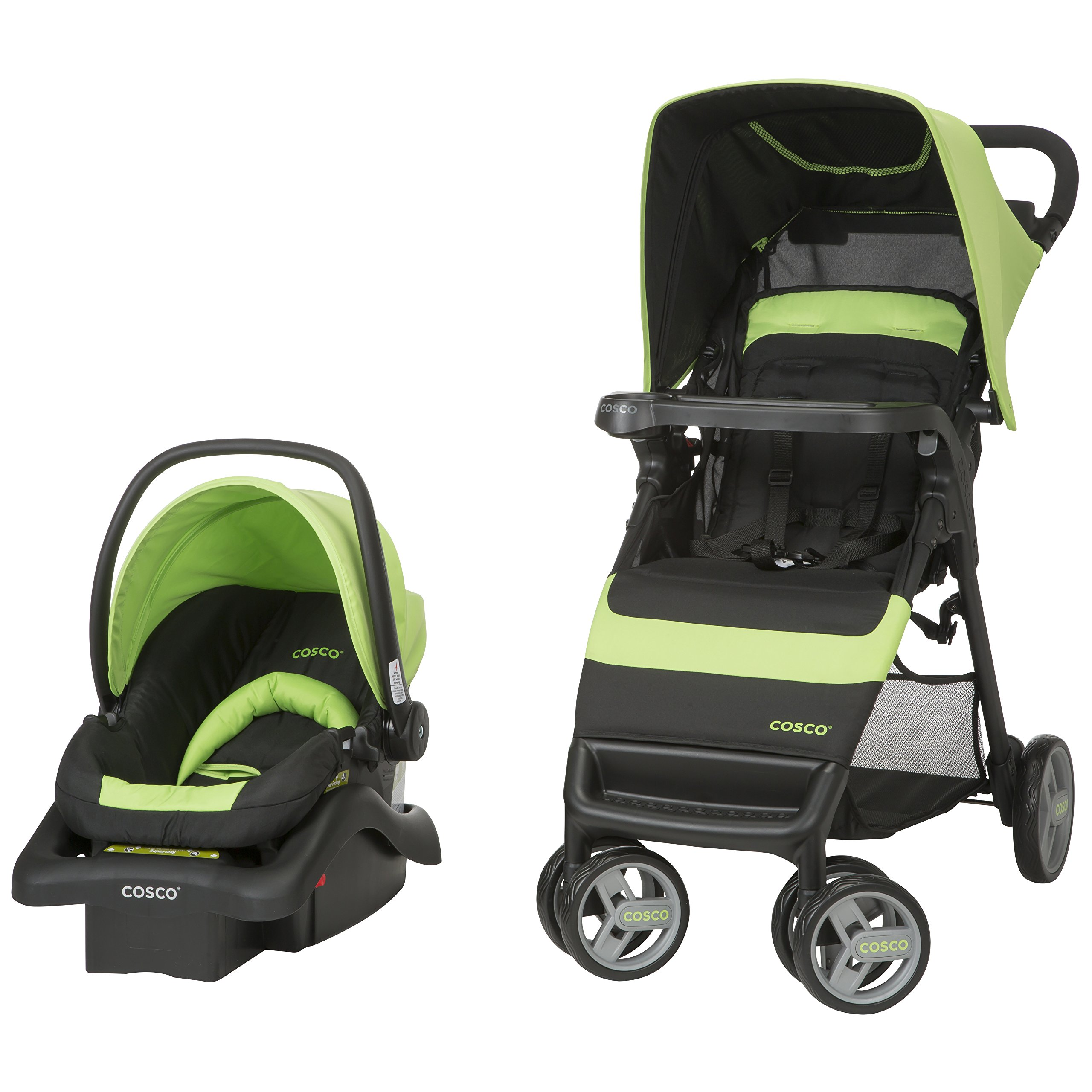 Cosco Simple Fold Travel System with Light 'N Comfy Infant ...
