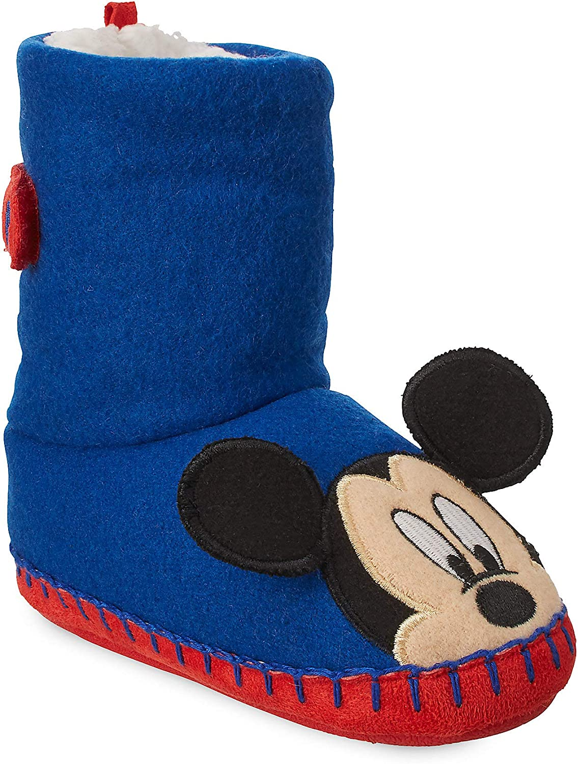 7//8 Mickey Mouse Boys Boot Slippers