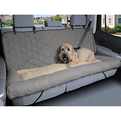 Amazon Com Petsafe Solvit 62455 Car Cuddler Large Grey Pet