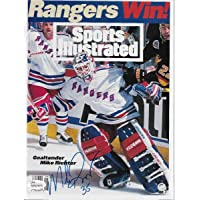 $134 » Mike Richter Autographed New York Rangers Sports Illustrated 6/20/95 JSA Witnessed - Autographed NHL Magazines