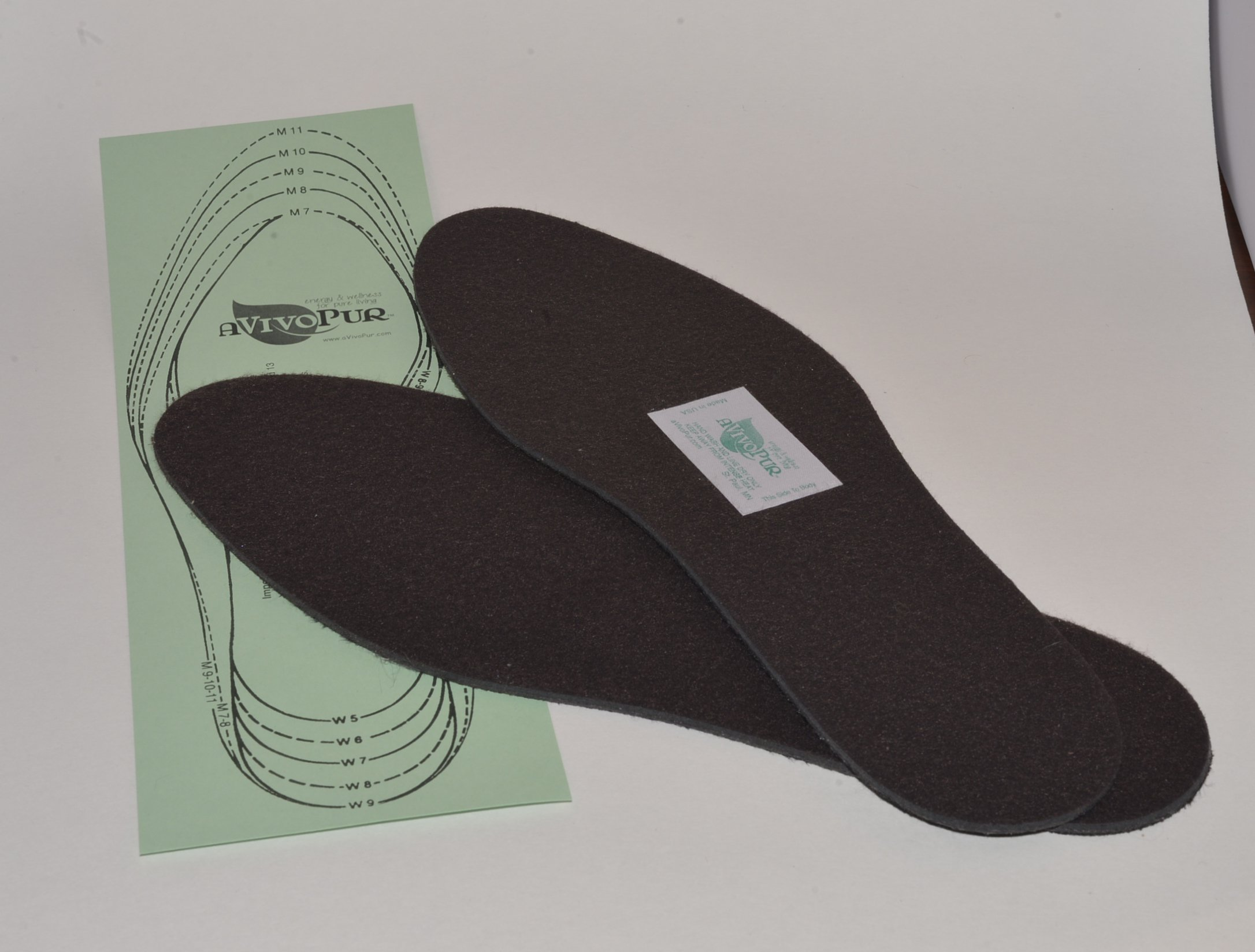 MAGNETIC INSOLES with Solid Durable North Pole Superflex Magnets Surface for Foot Care Health