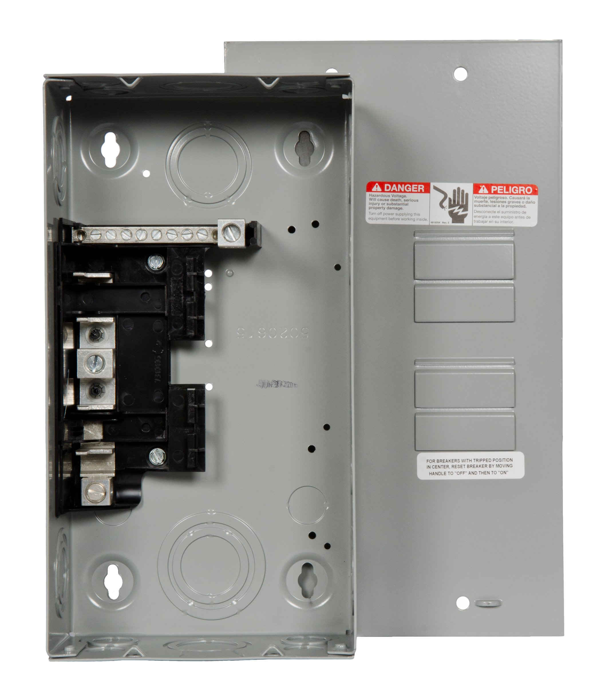 Siemens E0408ML1125FU Flush Mount, 125 Amp, 4 Space, 8 Circuit, Load Center