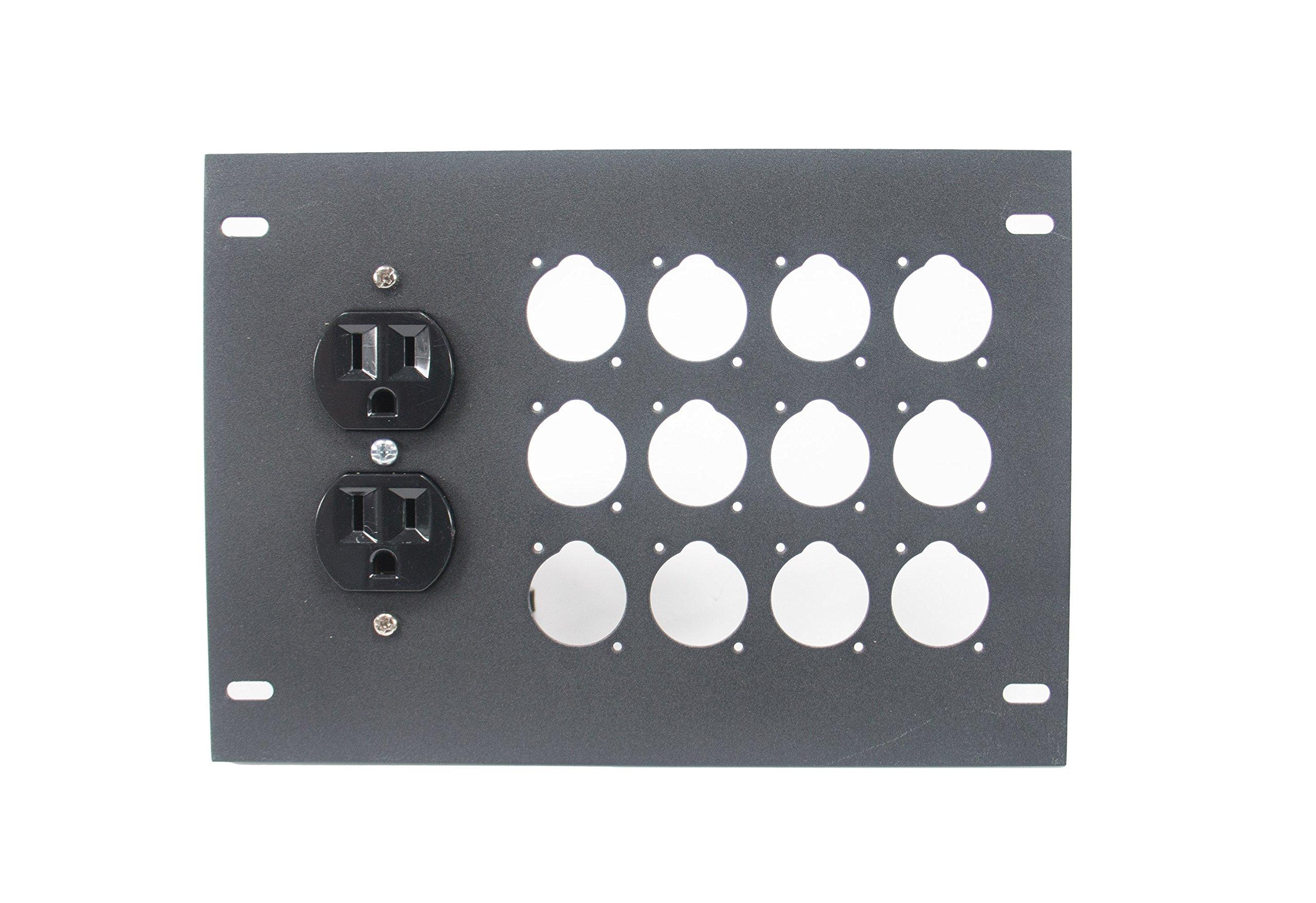 Elite Core FBL-PLATE-12+AC Plate for FBL Floor Box With AC Duplex - no connectors by Elite Core (Image #2)